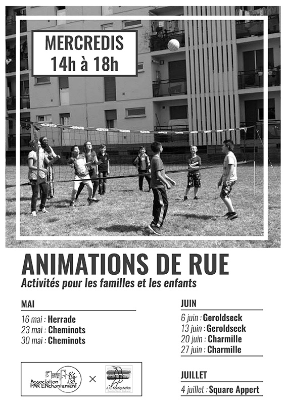 Animations de rue / Printemps 2018