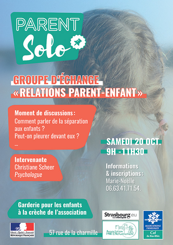 Relation Parents-Enfants / Semadi 20 octobre 2018